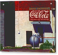 Old Deli Acrylic Print by Robert Henne