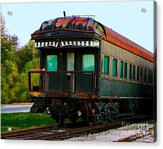 Old Dining Car Acrylic Print