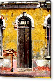 Old Door 2 By Darian Day Acrylic Print by Mexicolors Art Photography