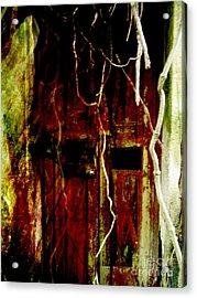 Old Door Set Four Acrylic Print by Kathy Daxon