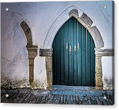 Old Doorway In Monsaraz Acrylic Print