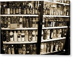 Old Drug Store Goods Acrylic Print