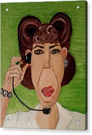 Ol' Ernestien Acrylic Print