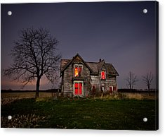 Old Farm House Acrylic Print by Cale Best