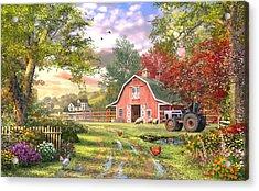 Old Farm House Variant 1 Acrylic Print