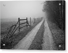 Old Farm Road Acrylic Print by David Gordon
