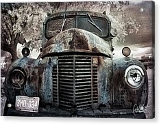 Old Farm Truck II Acrylic Print by Christine Hauber