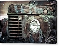 Old Farm Truck IIi Acrylic Print by Christine Hauber