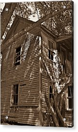Old Farmhouse In Summertime Acrylic Print