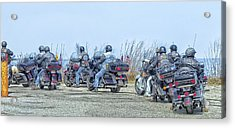 Old Fart Riders Acrylic Print