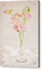 Old Fashioned Sweet Peas Acrylic Print