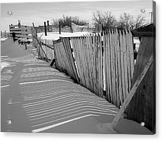 Old Fences Acrylic Print