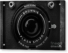 Old Film Camera Kodak Brownie Six-20 Acrylic Print