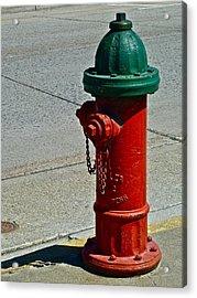 Old Fire Hydrant Acrylic Print