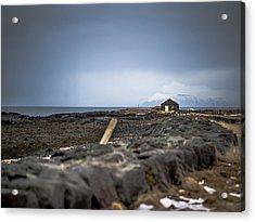 Old Fisherman's Coastal House Acrylic Print