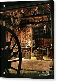 Old Forge Acrylic Print