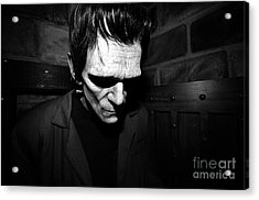 Old Frankie Acrylic Print by David Lee Thompson