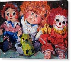 Old Friends Acrylic Print by Merle Keller