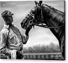 Old Friends Acrylic Print by Thomas Allen Pauly