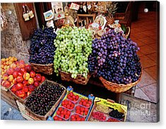 Acrylic Print featuring the photograph Old Fruit Store by Frank Stallone