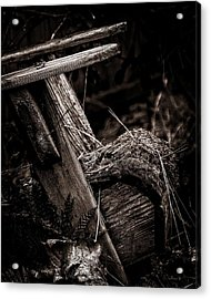 Old Garden Chair. Acrylic Print