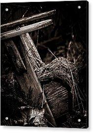 Old Garden Chair. Acrylic Print