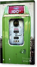 Old Gas Pump II Acrylic Print by DazzleMePhotography
