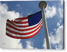 Old Glory 2 Acrylic Print by Bob Gardner