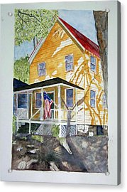 Old Glory Acrylic Print by Larry Wright