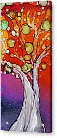 Old Gray Tree Acrylic Print