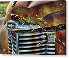 Old Grill Acrylic Print