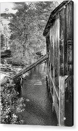 Old Grist Mill Acrylic Print by Joann Vitali
