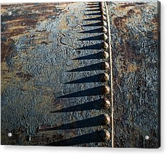 Acrylic Print featuring the photograph Old Grunge by Mary Hone