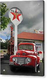 Acrylic Print featuring the photograph Old Guys Rule by Lori Deiter