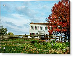 Old Home Federal Style Acrylic Print