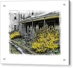 Old Homeplace Acrylic Print by Robert Boyette