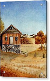 Old Homestead Acrylic Print by Jimmy Smith