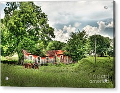 Old Homestead Acrylic Print by Tamyra Ayles