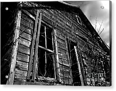Old House Acrylic Print by Amanda Barcon
