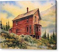 Old House Animas Forks Colorado Acrylic Print by Kevin Heaney