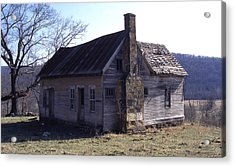 Old House Acrylic Print by Curtis J Neeley Jr