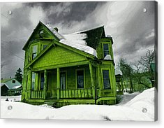 Acrylic Print featuring the photograph Old House In Roslyn Washington by Jeff Swan