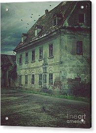 Old House Acrylic Print by Mythja Photography