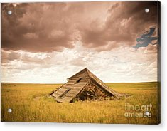 Old House On Ranch Acrylic Print