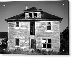 Old House On Stagecoach Road Acrylic Print by Stephen Mack