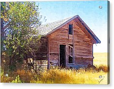Acrylic Print featuring the photograph Old House by Susan Kinney