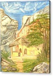 Old House Acrylic Print