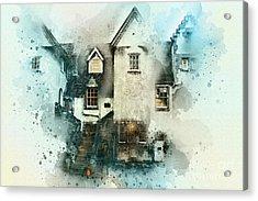 Old House Acrylic Print by Svetlana Sewell