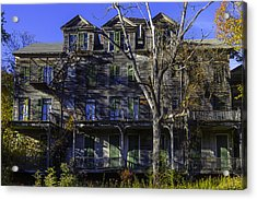 Old House Vermont Acrylic Print by Garry Gay