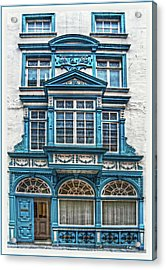 Acrylic Print featuring the digital art Old Irish Architecture by Hanny Heim